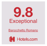 Hotels.com guest experience rating