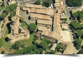 Borgo di Ostia Antica Vista Aerea